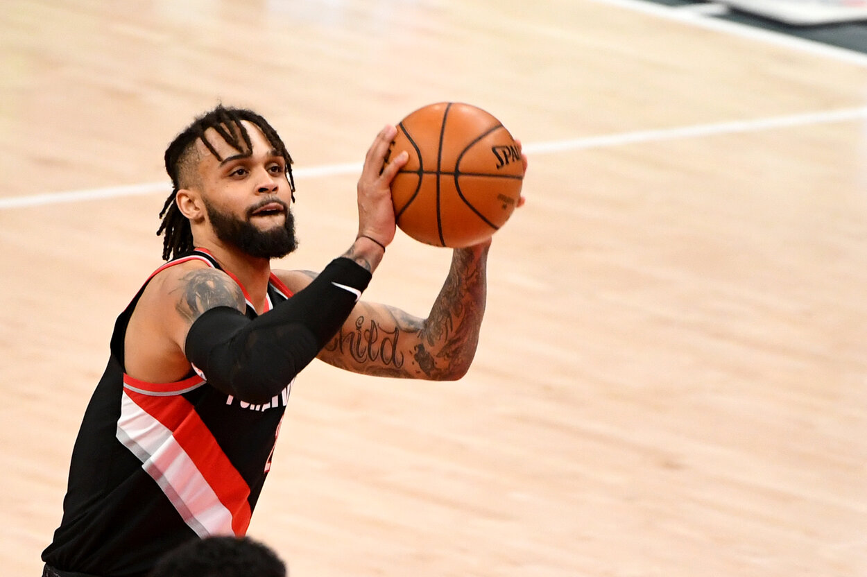 Gary Trent Jr.'s Biggest Accomplishment of Late Has Nothing to Do With the Trail Blazers