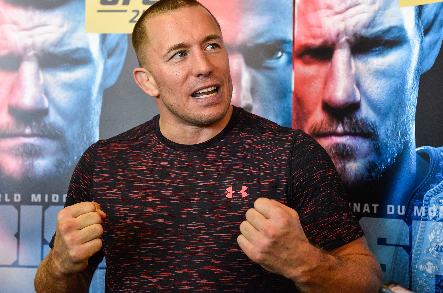 UFC legend Georges St-Pierre dislikes fighting other than in the Marvel Universe. He's currently in 'The Falcon and the Winter Soldier.'