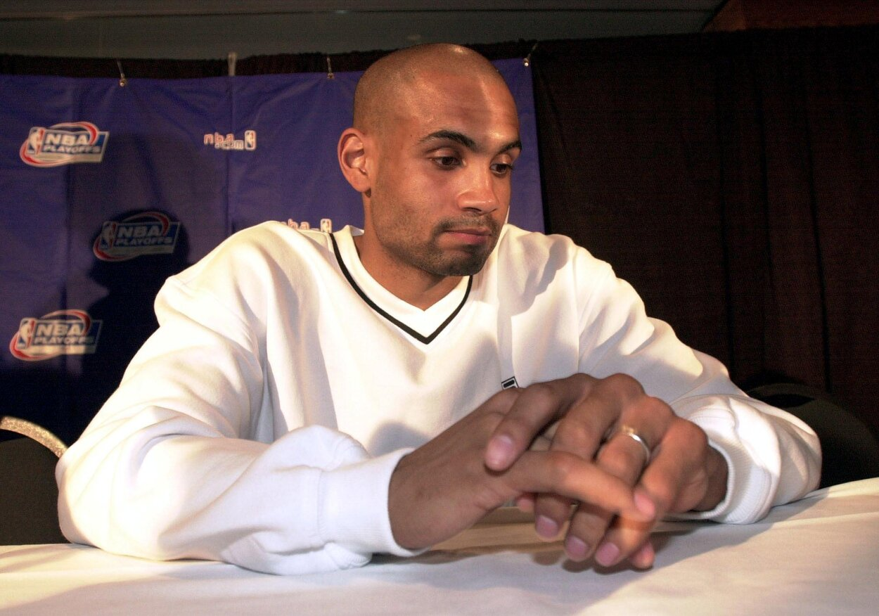 Former Detroit Pistons star Grant Hill in 2000.