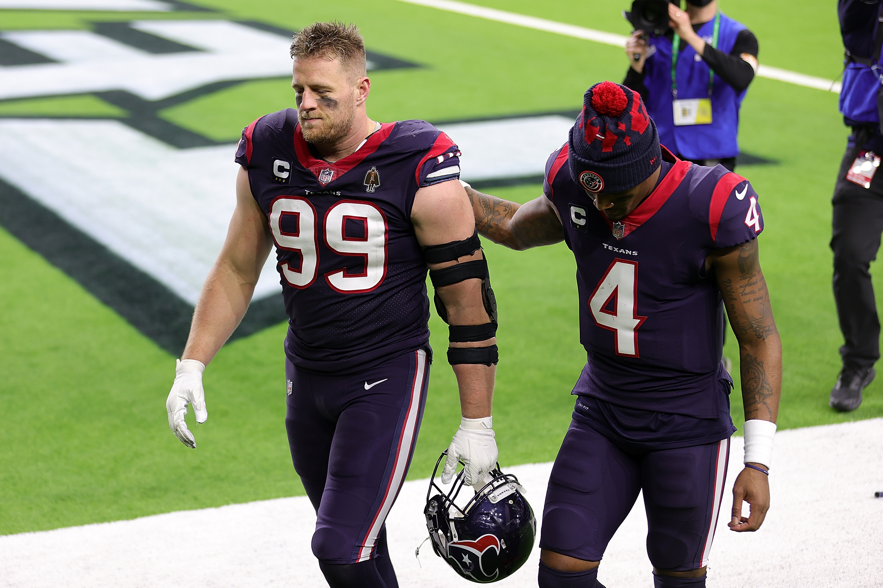 J.J. Watt Reportedly Blasted by Former Texans Coach