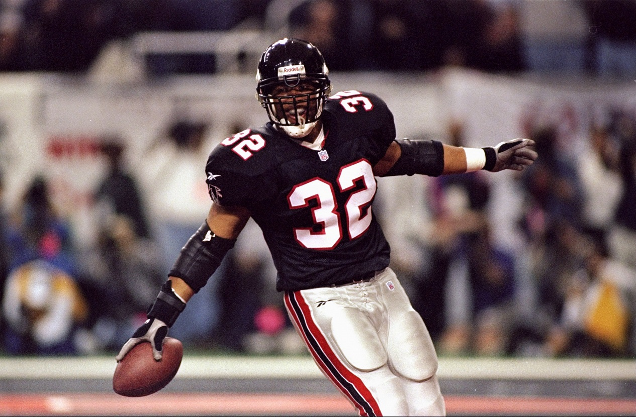 Jamal Anderson Acted Like a 'Dirty Bird' After Leading the Atlanta Falcons to a Super Bowl