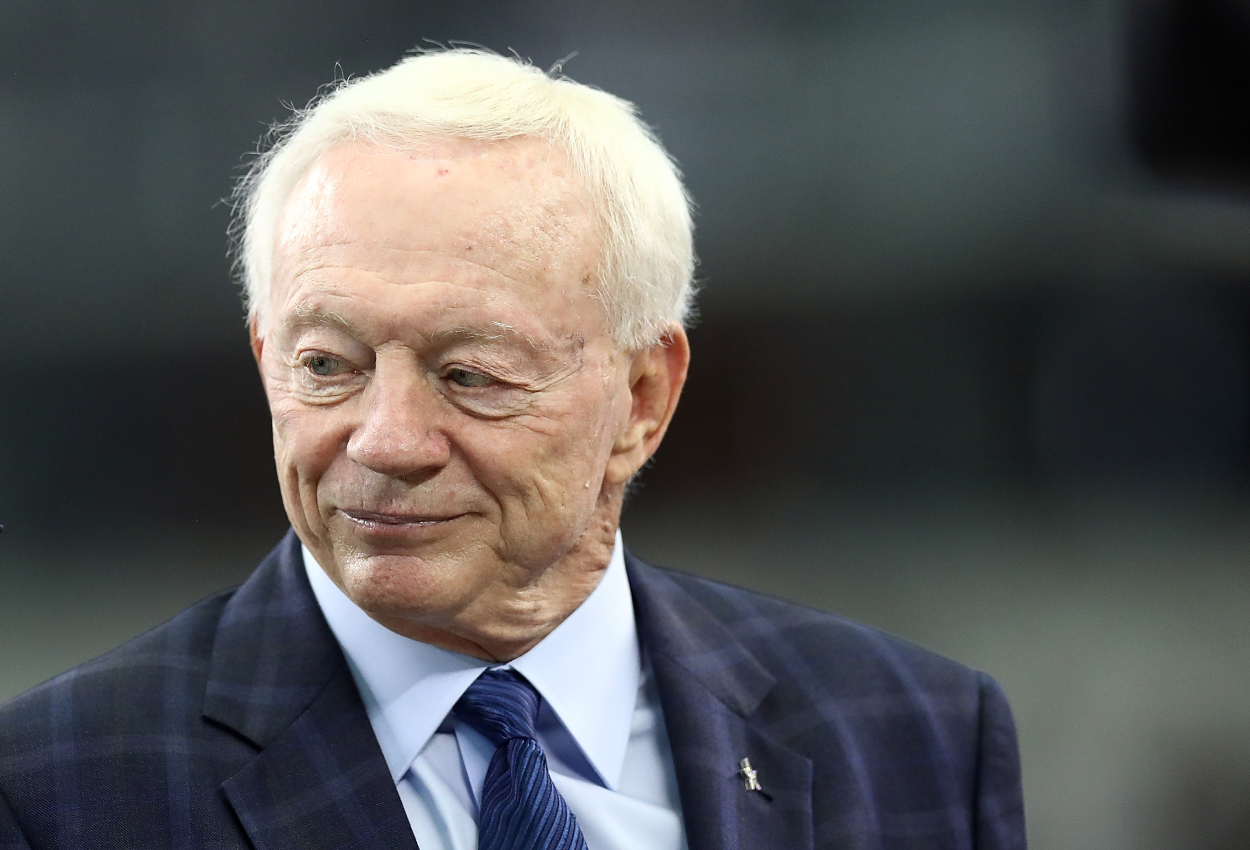 Owner Jerry Jones of the Dallas Cowboys in 2018.