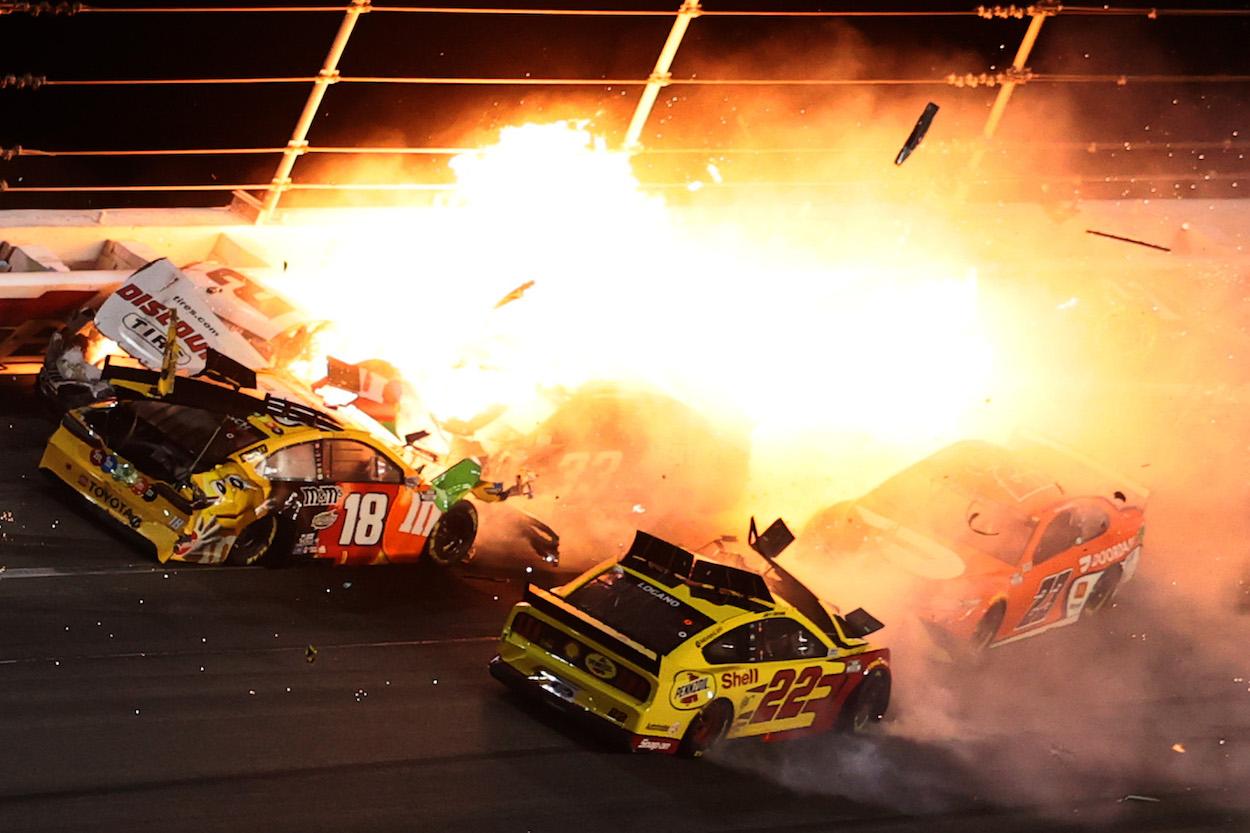 Brad Keselowski and Joey Logano Daytona 500