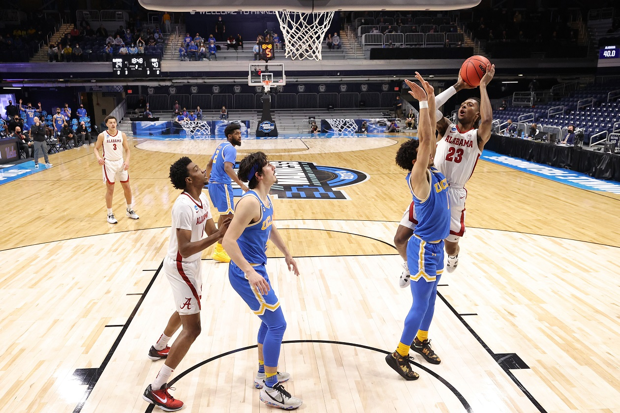 John Petty Jr.'s Shorts Turned the 'Tide' Of the UCLA/Alabama Sweet 16 Matchup