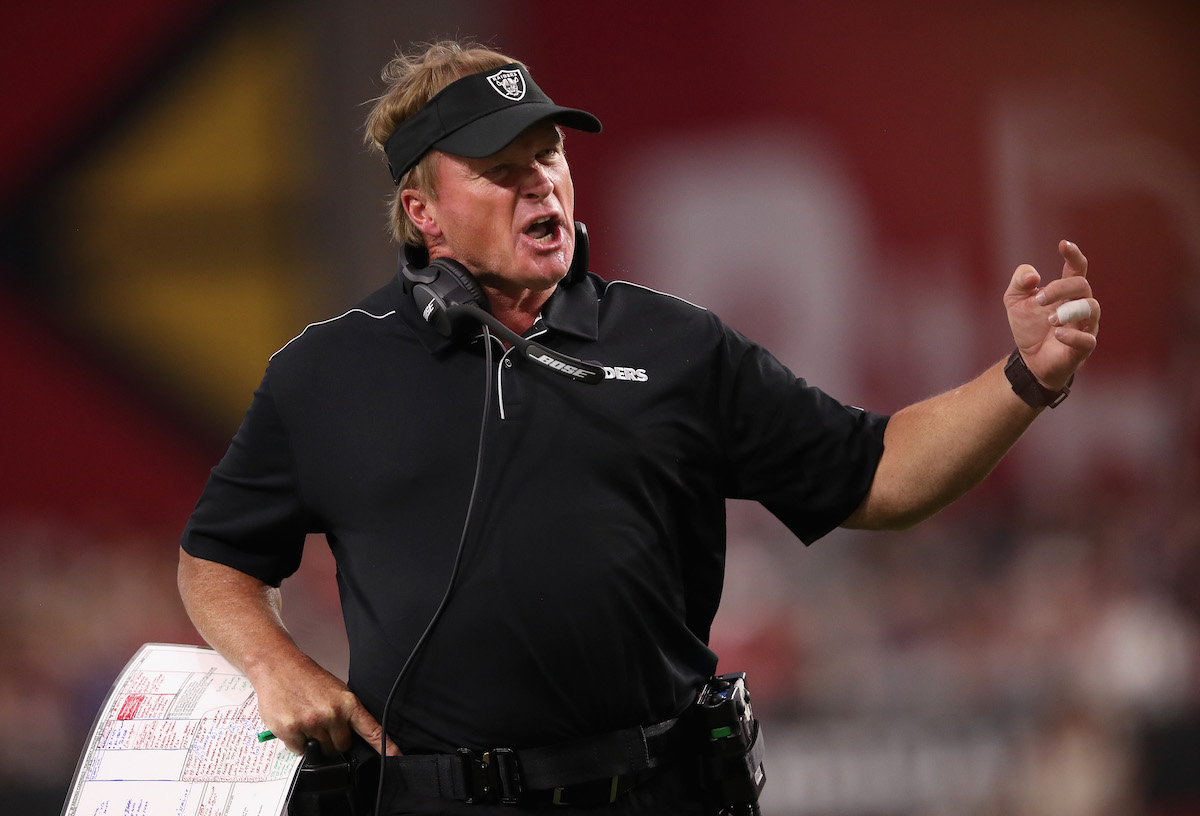 How Did NFL Coach Jon Gruden Get His 'Chucky' Nickname?