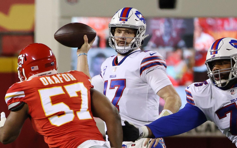 Buffalo Bills receiver John Brown wonders in quaterback Josh Allen had a hand in his being cut.