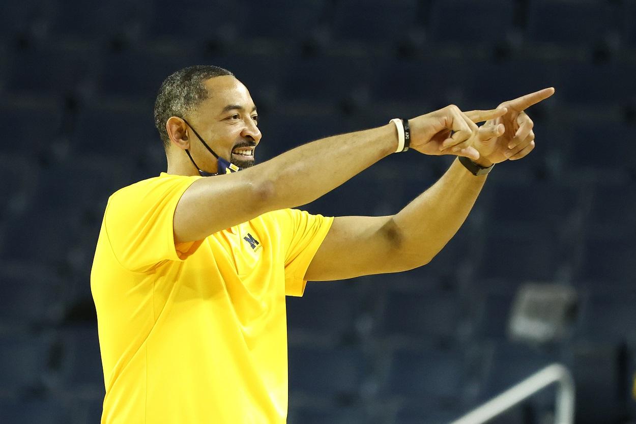 Michigan Wolverines head basketball coach Juwan Howard