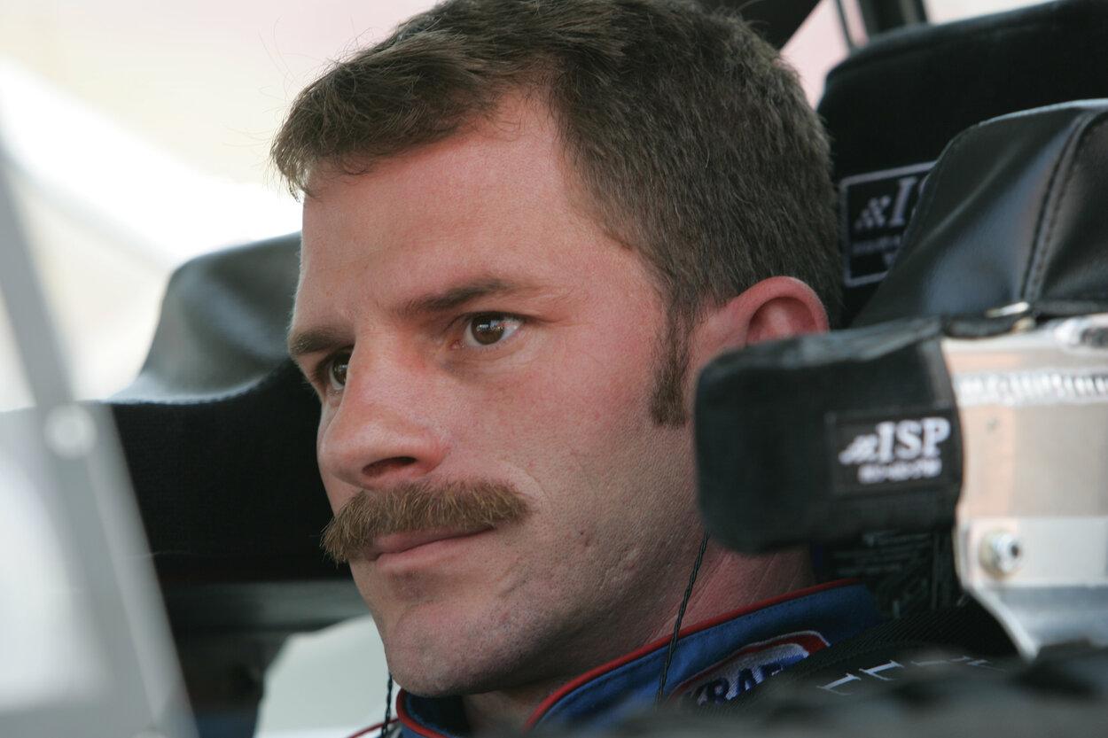 NASCAR driver Kerry Earnhardt -- Dale Earnhardt Jr.'s older brother -- in 2005.