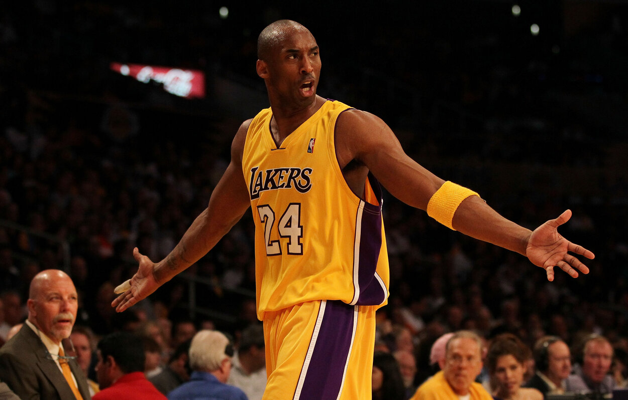Los Angeles Lakers legend Kobe Bryant in 2010.