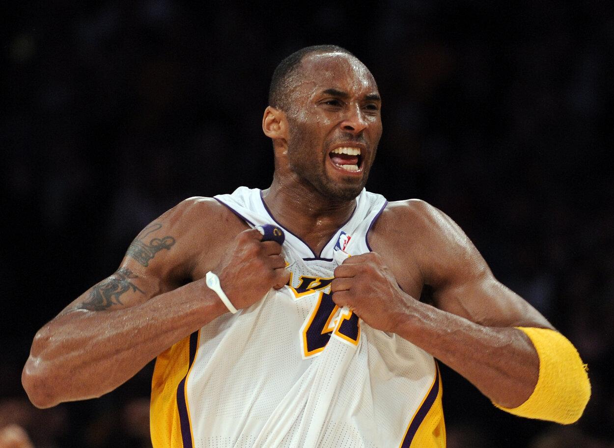 Los Angeles Lakers guard Kobe Bryant in 2011.