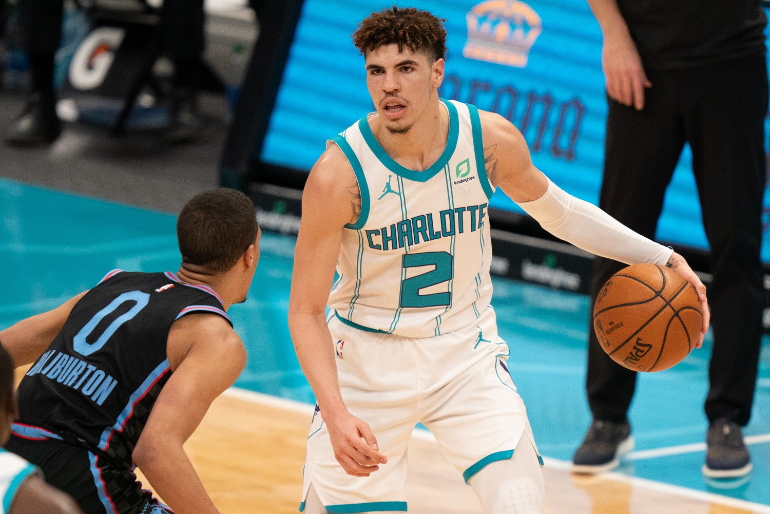 LaMelo Ball was on his way to likely NBA Rookie of the Year honors with the Charlotte Hornets before his injury.
