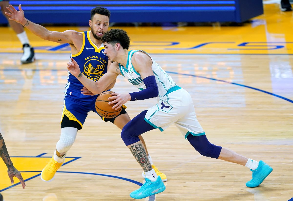 The Golden State Warriors Slapped LaMelo Ball in the Face and Viciously Lied to Him