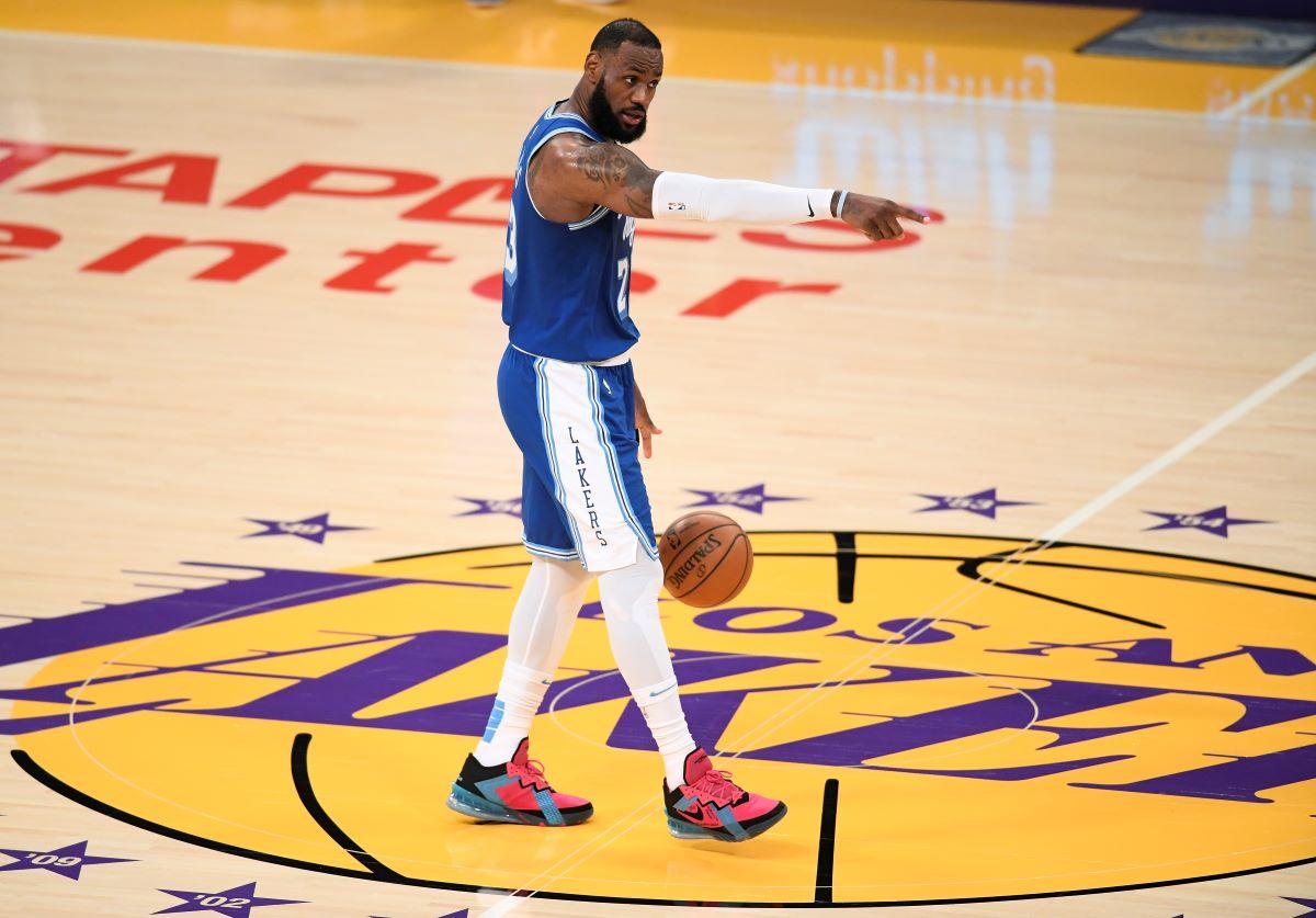 LeBron James, Lakers, NBA, The Chosen One