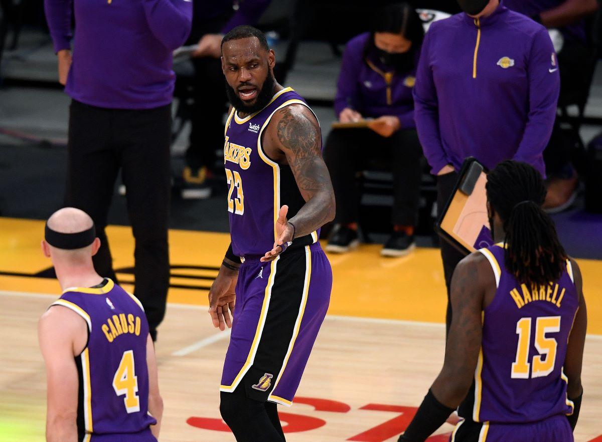 LeBron James, Kyle Kuzma, Lakers, NBA