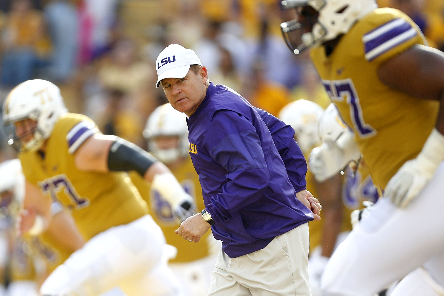 Les Miles' Disturbing Pattern of Alleged Sexual Misconduct Forced LSU to Take Drastic Legal Measures to Protect Female Students