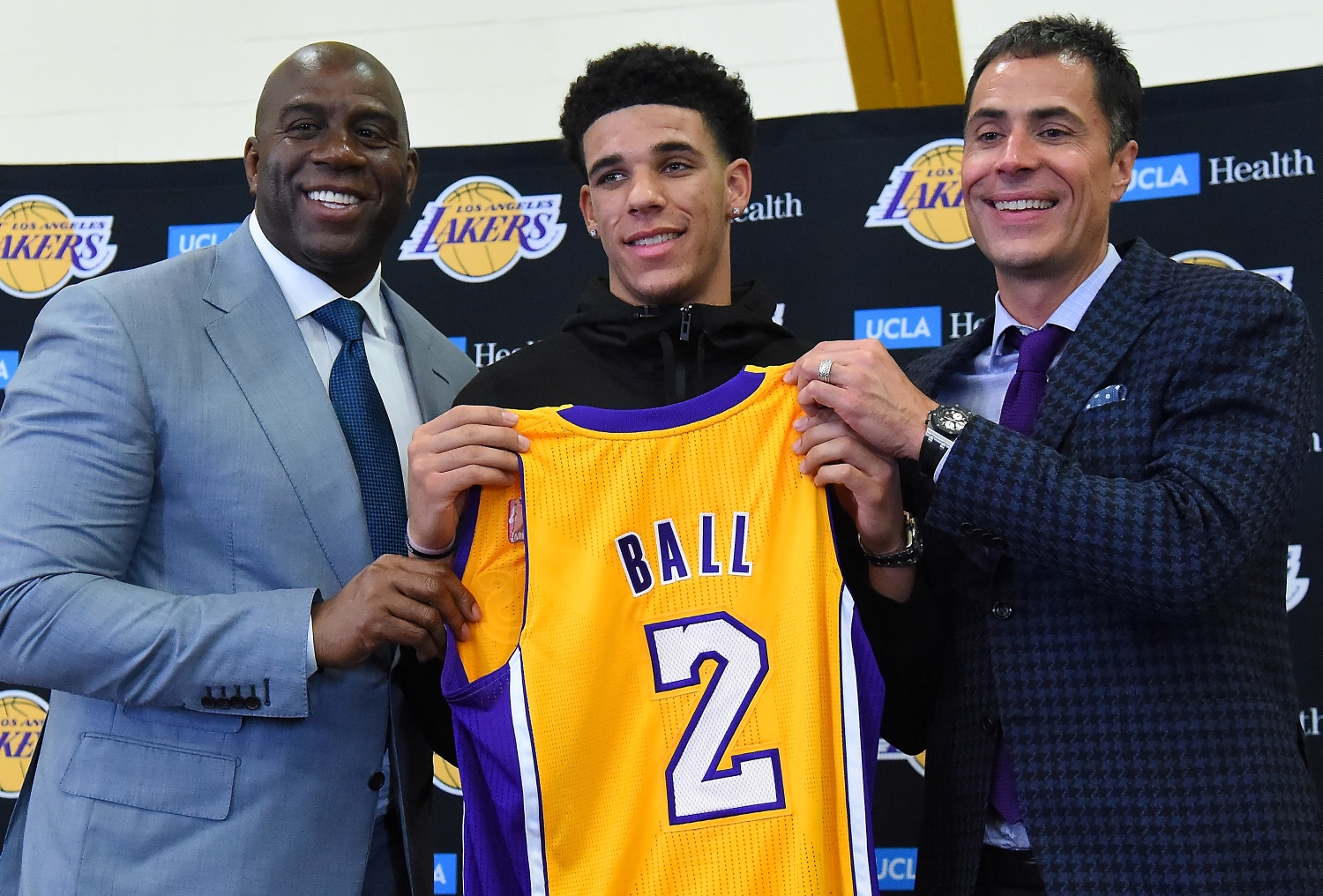 Lakers Fans Will Be Livid After Learning the True Reason Magic Johnson Drafted Lonzo Ball