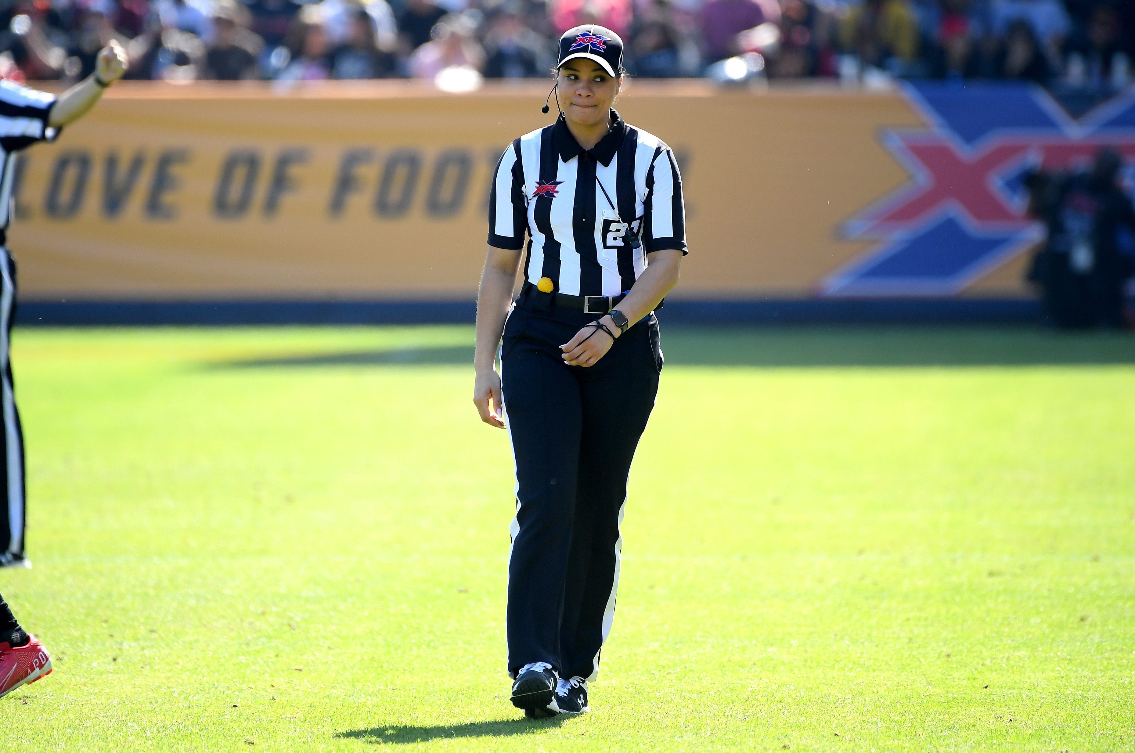Maia Chaka will be the first Black female official in the NFL next year.