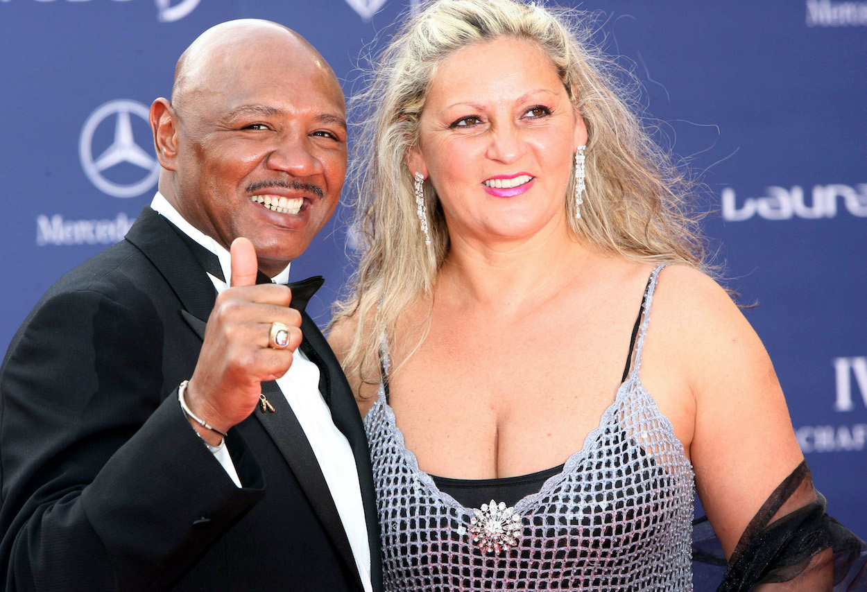 Marvelous Marvin Hagler's Widow Aggressively Denies the Vicious Rumor About His Death
