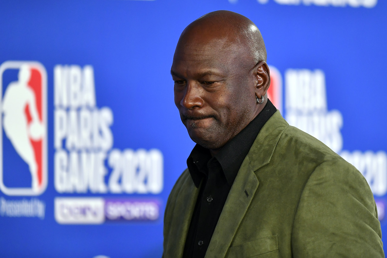 Chicago Bulls legend and Charlotte Hornets owner, Michael Jordan