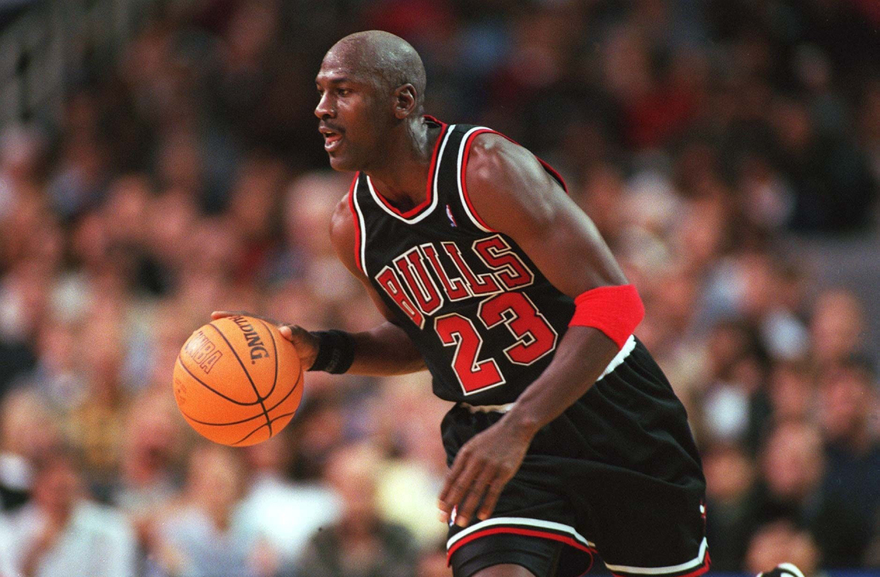 Michael Jordan during his NBA career with the Chicago Bulls.
