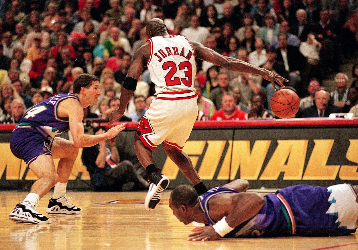 Shaquille O'Neal has fond memories of Michael Jordan embarrassing Nick Anderson, O'Neal's teammate.