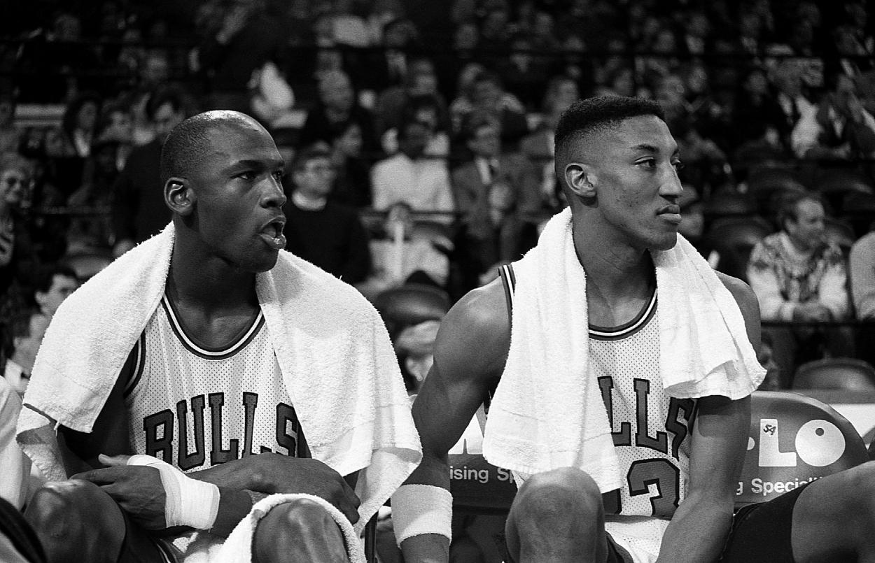 Michael Jordan's Personal Dream Team Still Incudes Scottie Pippen