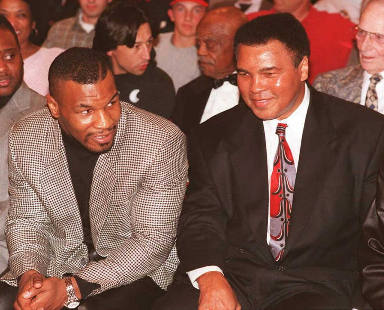 Muhammad Ali and Mike Tyson Fought a Father-Son Duo 24 Years Apart and Got the Same Result…Kind Of