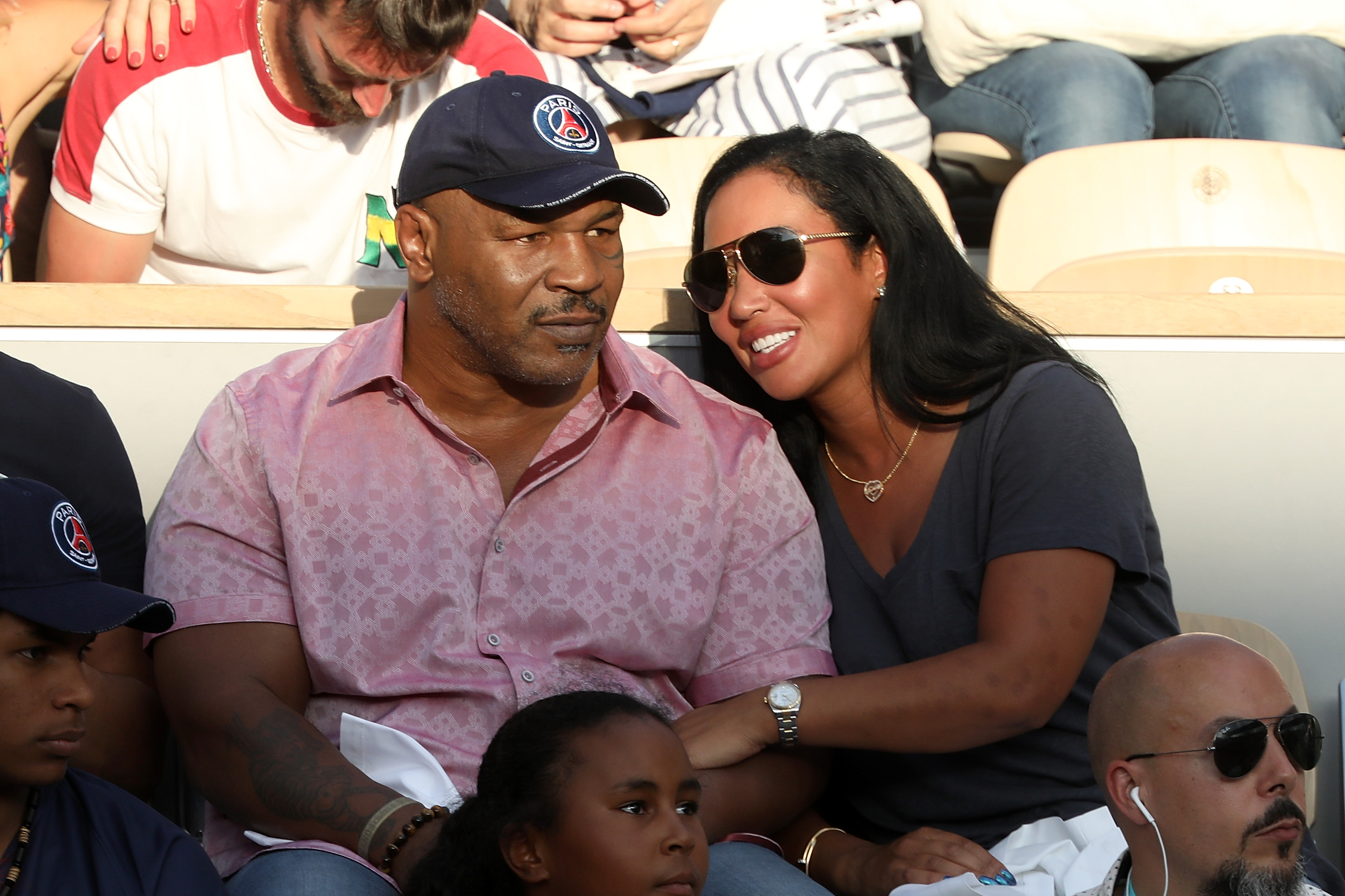 Imagine combining Mike Tyson and Serena Williams?