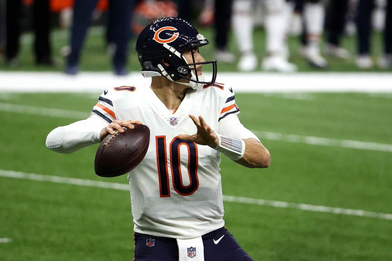 Mitchell Trubisky Faces the Chopping Block in the Chicago Bears' Desperate Gamble to Save the Franchise