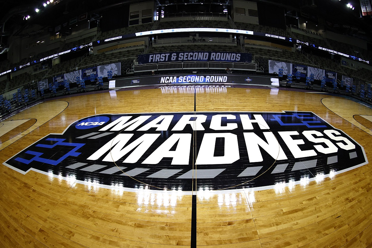 The NCAA Tournament logo in 2021