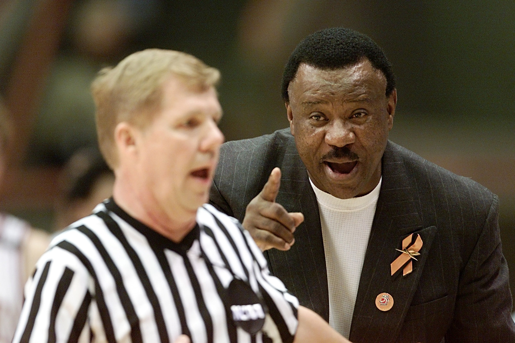 Nolan Richardson was shocked by Larry Bird, who did nothing at all.