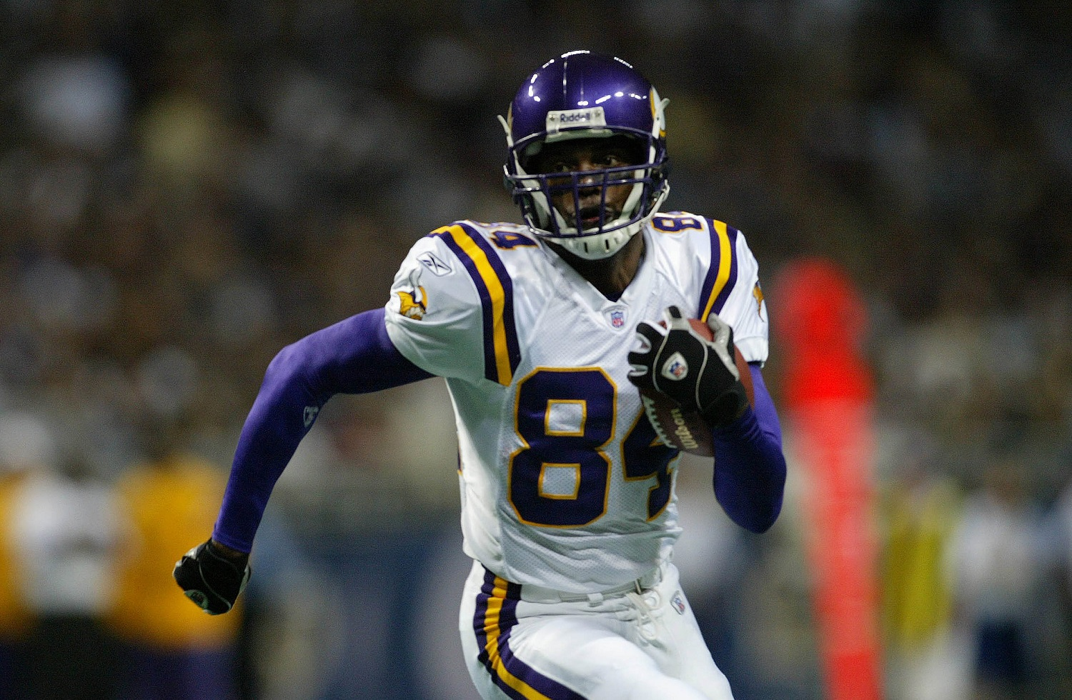 Randy Moss Posed a Peculiar Problem for His Minnesota Vikings Teammates