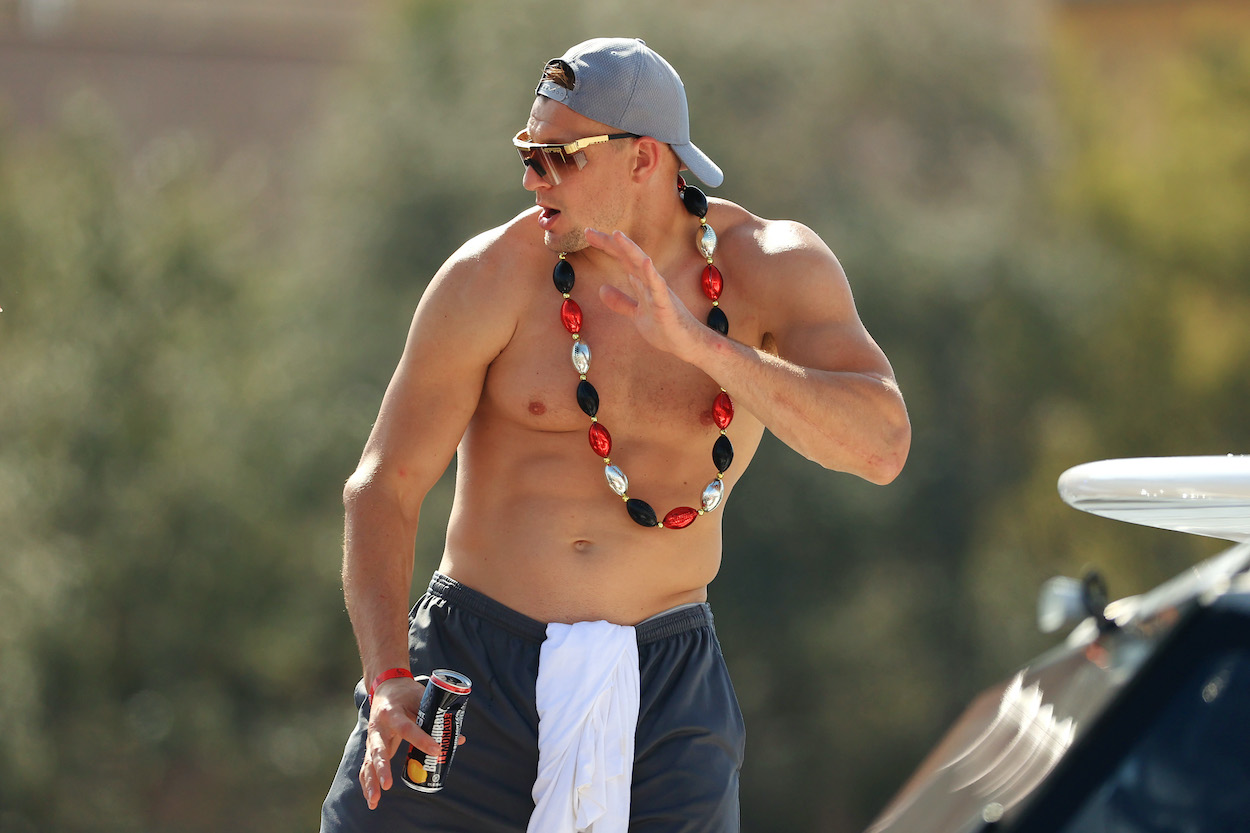 Rob Gronkowski's New Online Hobby Just Added $1.8 Million to His Bank Account in 1 Weekend