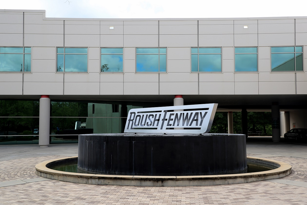 Roush Fenway Racing headquarters in Concord, N.C.