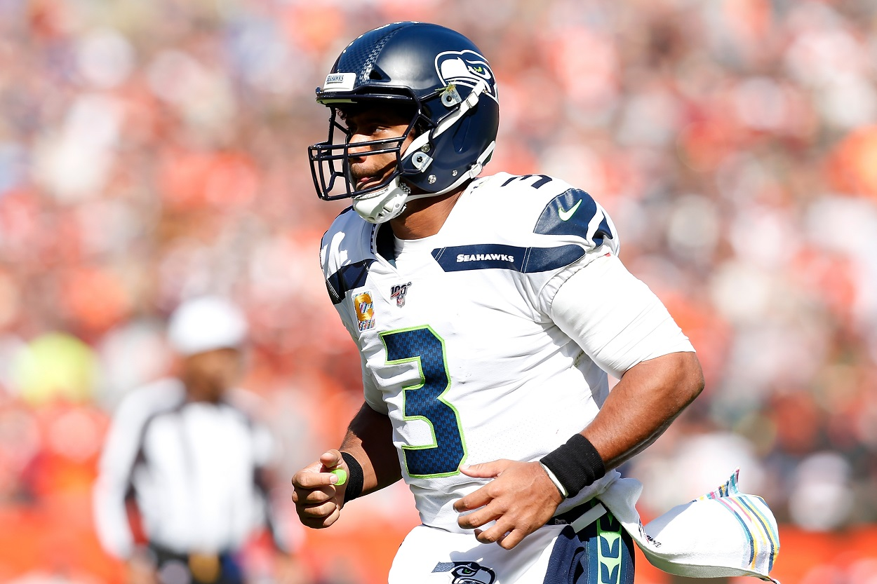 Russell Wilson's New Seahawks Teammate Voices Telling Comments Concerning Him