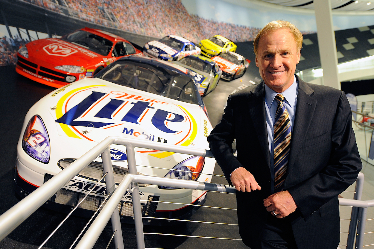 Rusty Wallace at NASCAR Hall of Fame