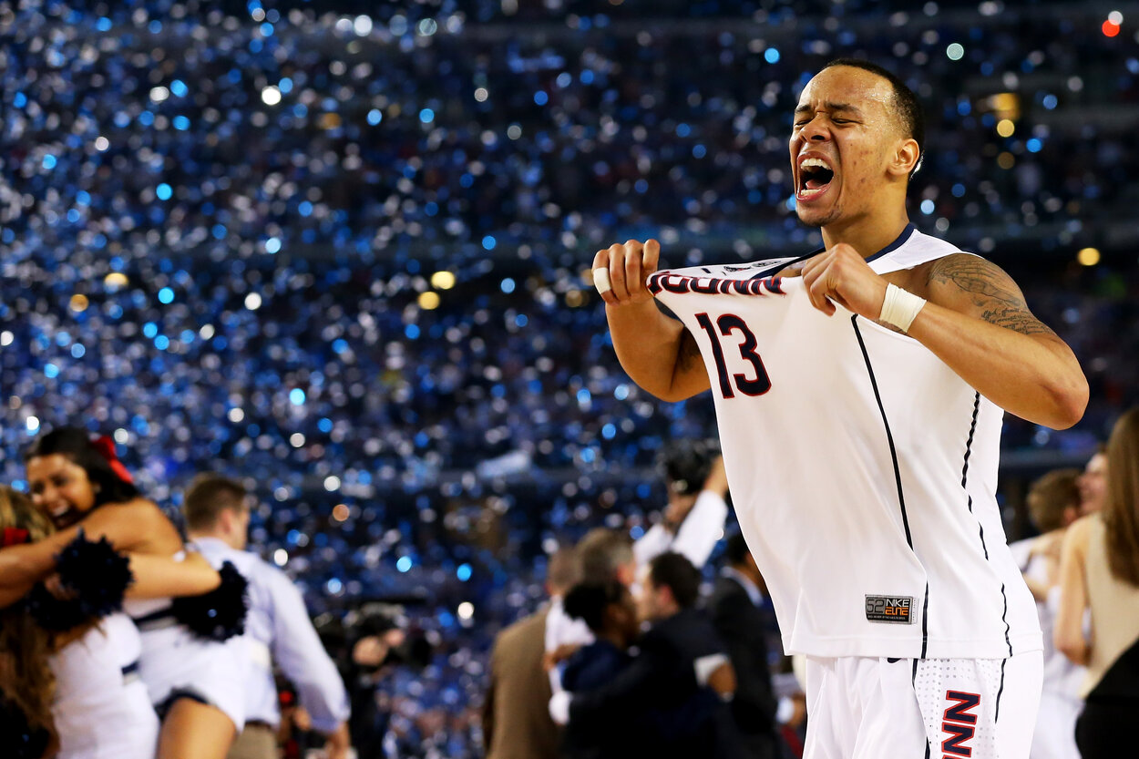 UConn Huskies guard Shabazz Napier became a March Madness hero in 2014.