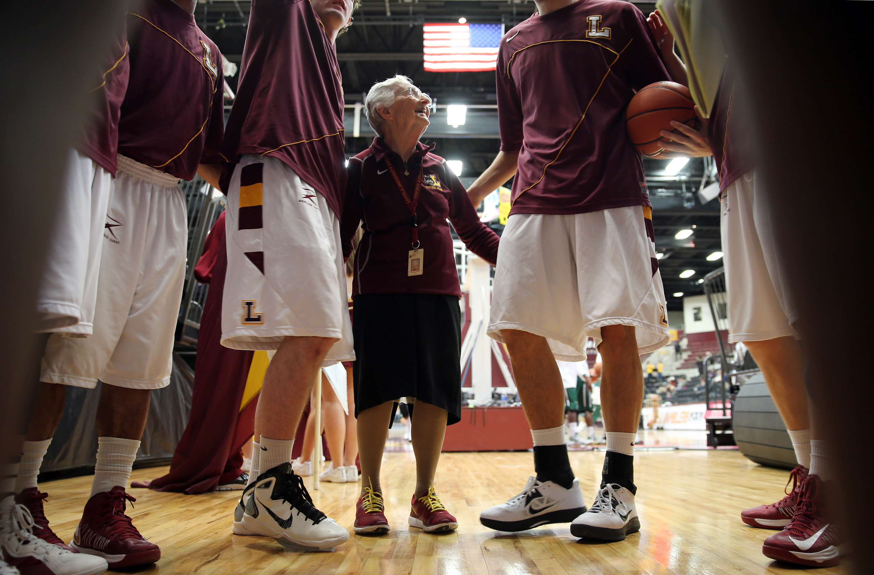 Sister Jean Trolls Kentucky  After Given the OK to Attend March Madness