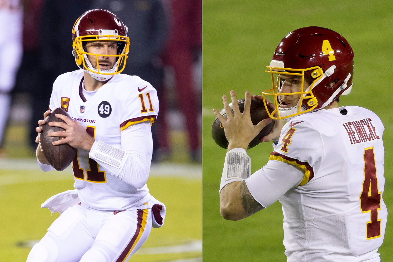 Alex Smith's Release Has Given Taylor Heinicke a Free Pass to the Starting Job for Washington