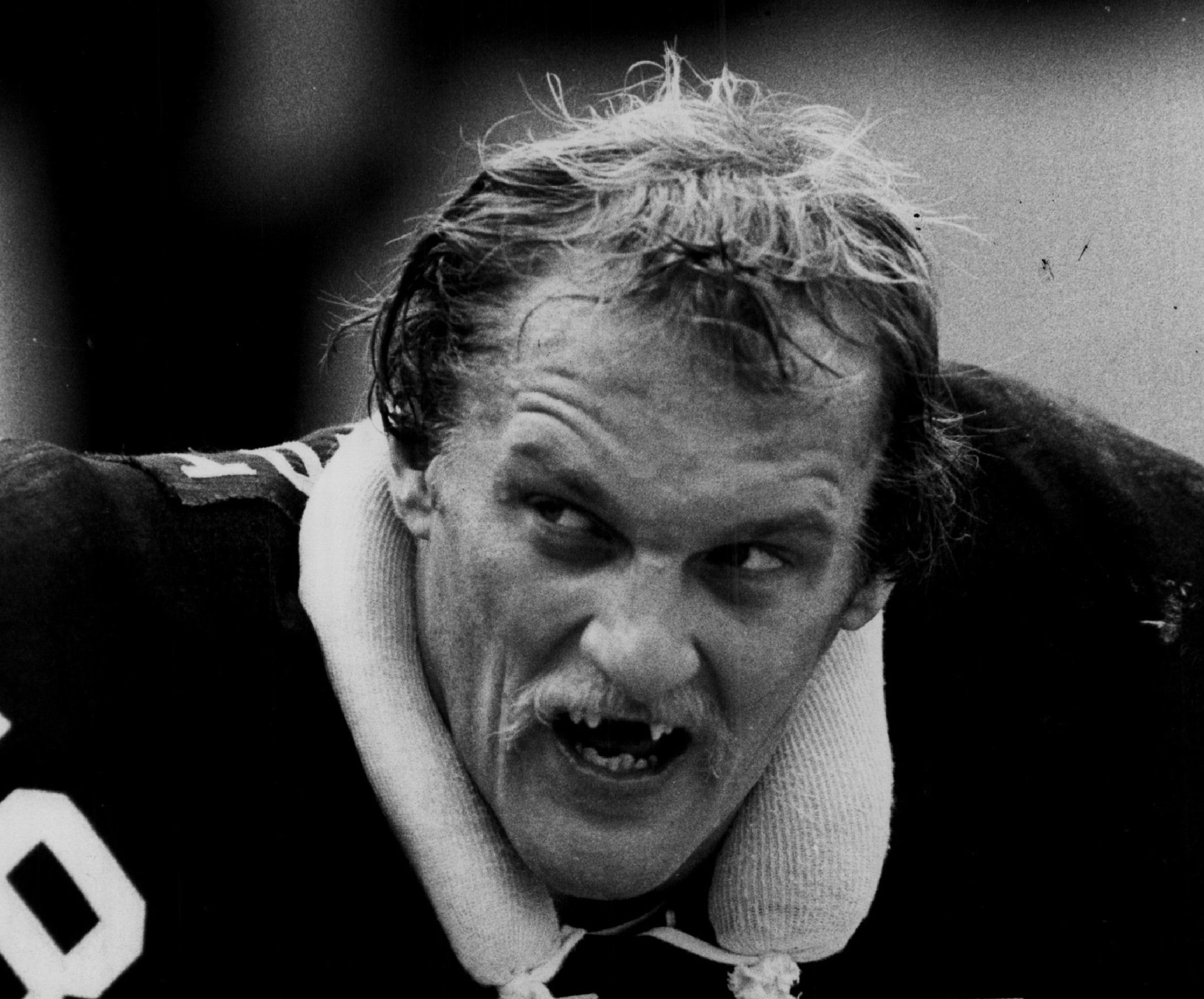 Pittsburgh Steelers linebacker Jack Lambert was an intimidating figure with his trademark scowl. | Sporting News via Getty Images