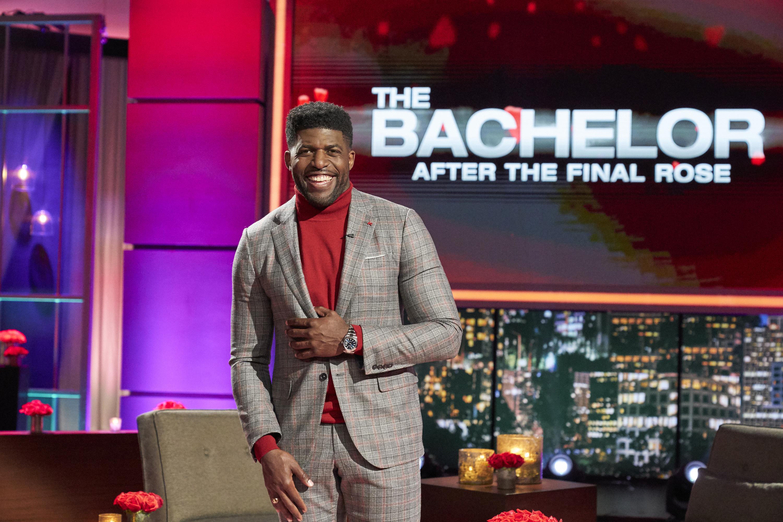 Former NFL player Emmanuel Acho hosts The Bachelor: After the Final Rose