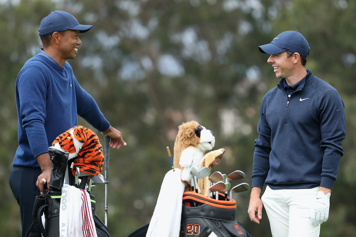Rory McIlroy Provides an Uplifting Tiger Woods Update After His Frightening Car Accident