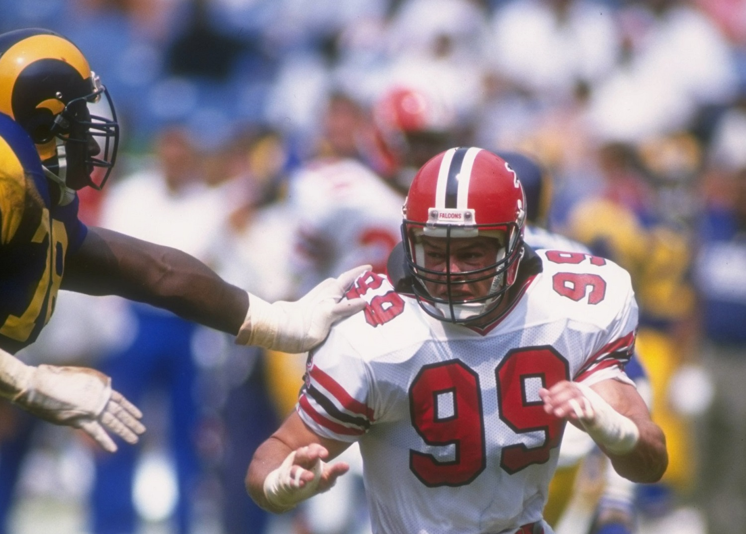 Tim Green played eight NFL seasons for the Atlanta Falcons.