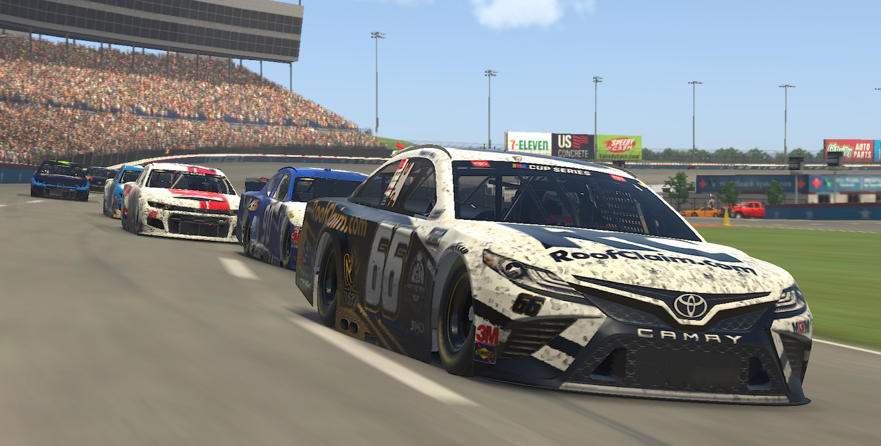 Timmy Hill in eNASCAR iRacing Pro Invitational