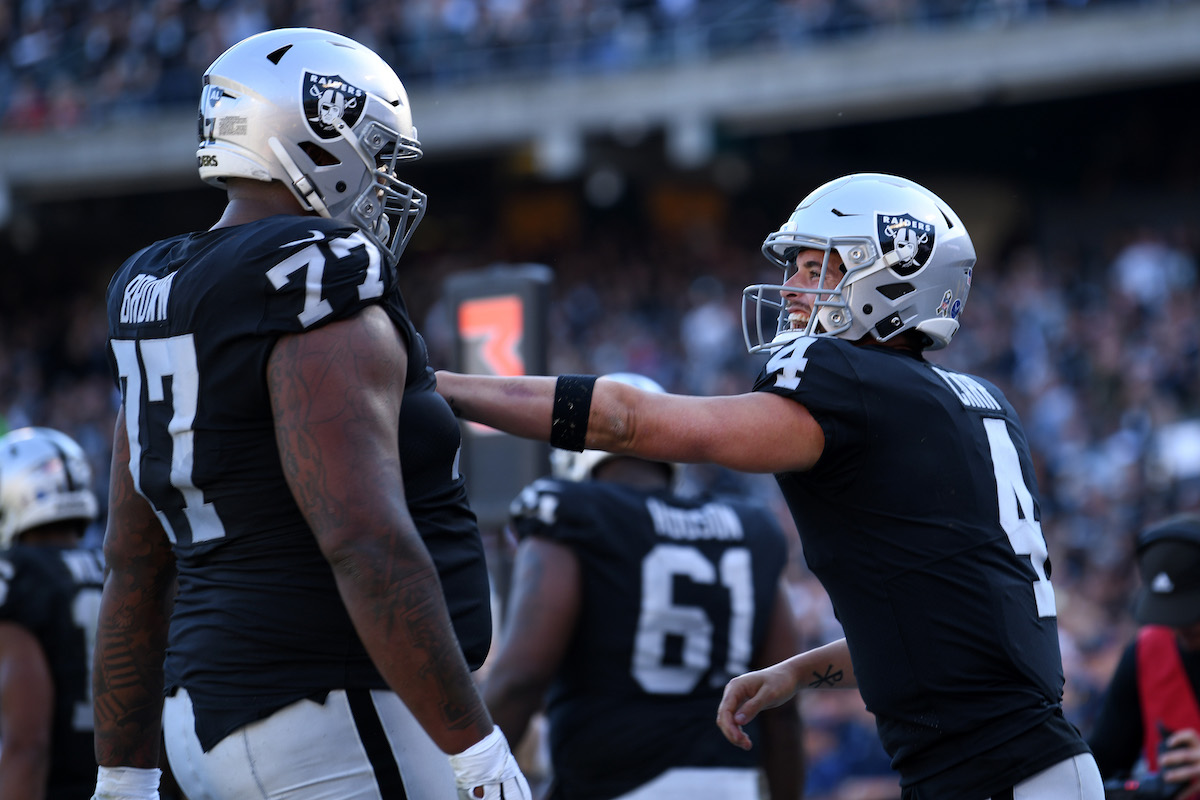 Derek Carr Should Be Furious Over The Las Vegas Raiders' Recent Trade Talks