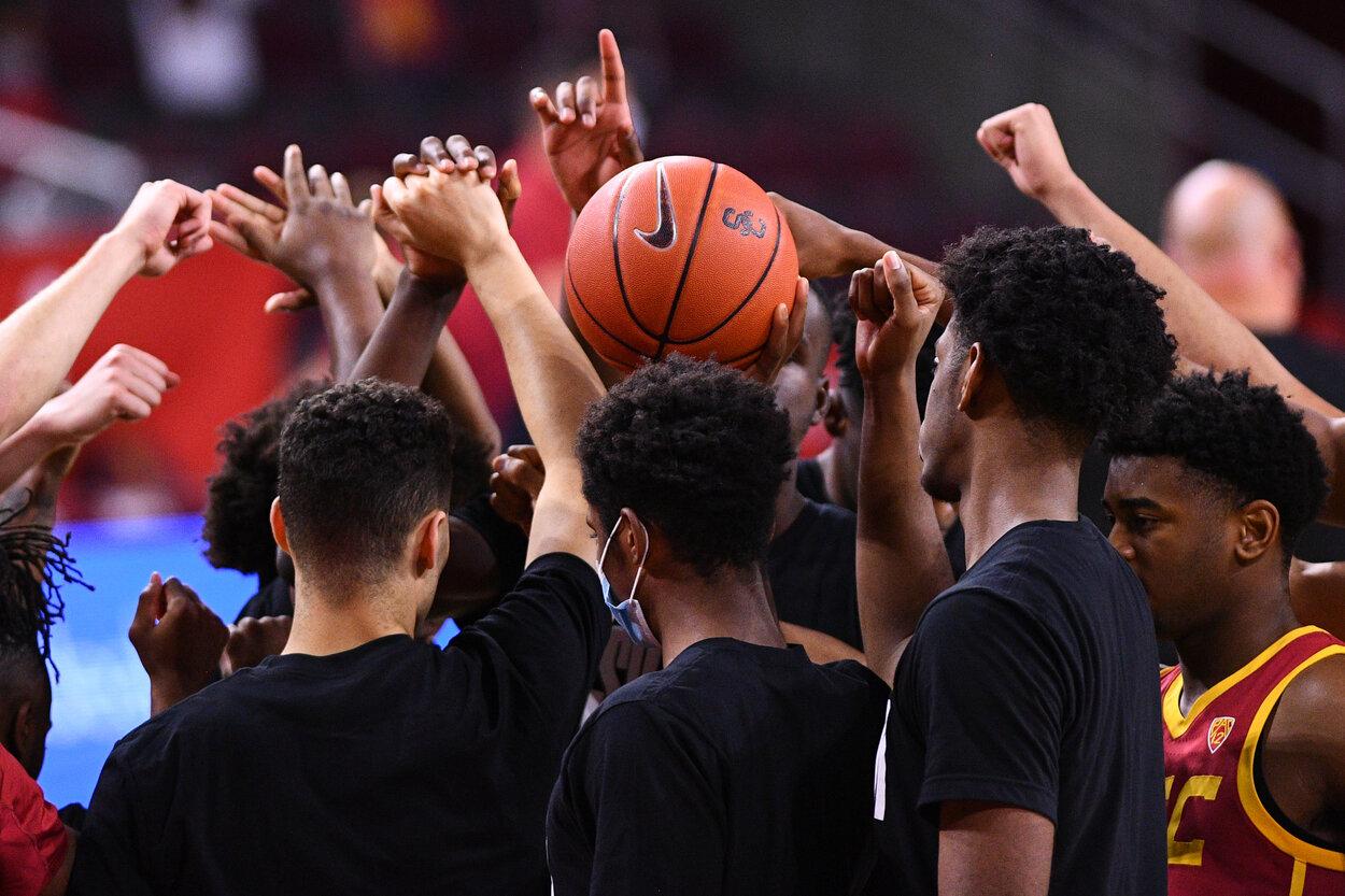 The USC men's basketball team is making an NCAA Tournament run.