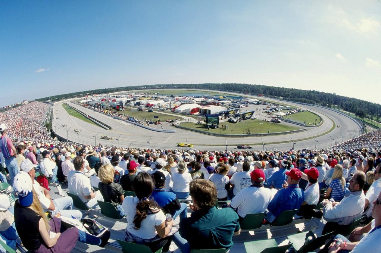 Walt Disney World Speedway in Florida hosts an IndyCar race