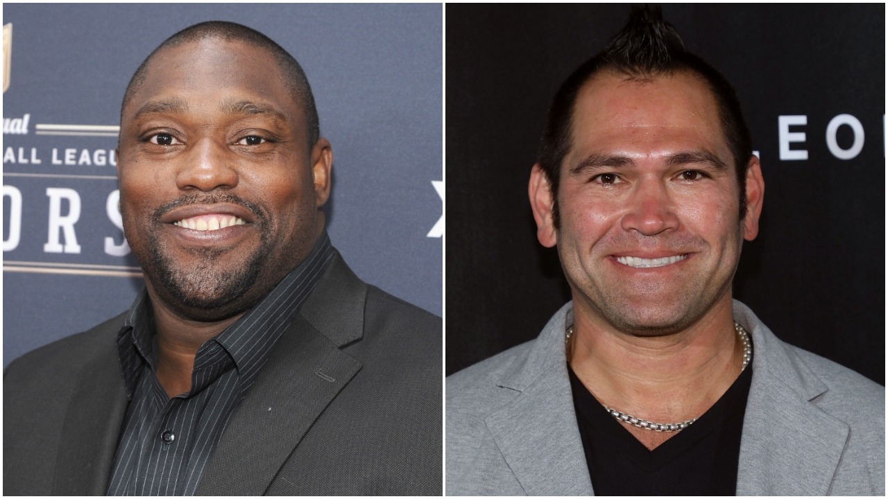 Warren Sapp Johnny Damon