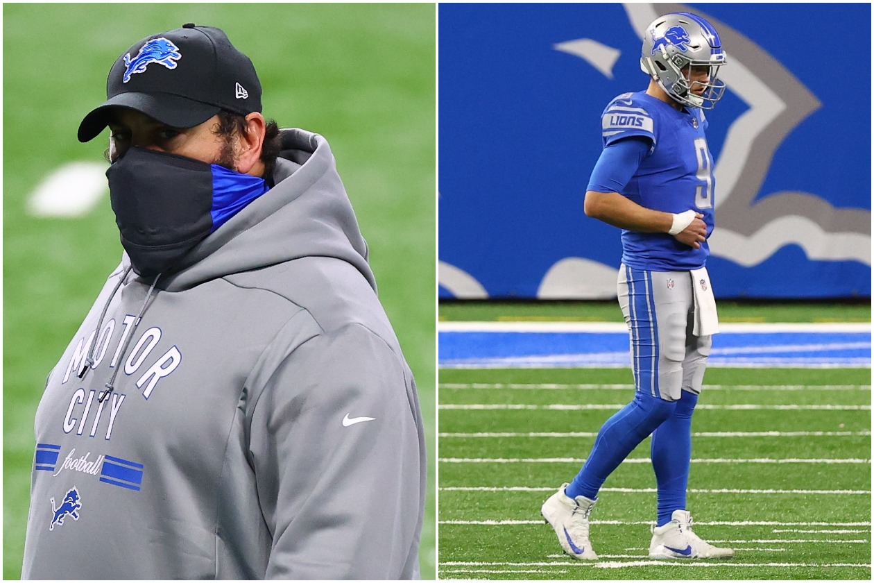 Matthew Stafford and the Detroit Lions Twisted the Knife in the Matt Patricia Era
