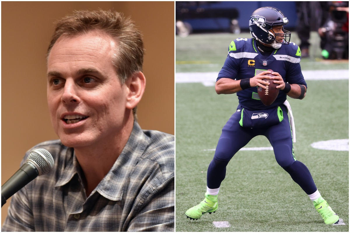 Colin Cowherd Thinks Russell Wilson Might Be Headed to Chicago Because the Bears Are Making an Offer Too Good to Refuse